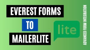 How to integrate Everest Forms to MailerLite Efficiently